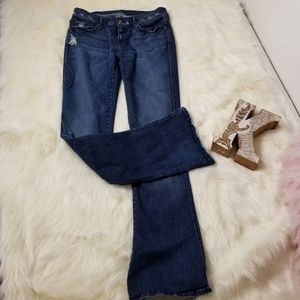 7 For all Mankind 7FAM Flare Kaylie Jeans sz 29